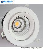 30W Triac 0-10V regulable Dali Downlight LED Empotrables LED Downlight mazorca/ para el proyecto y la iluminación comercial