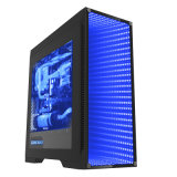 Black Full Tower Gaming Case avec fenêtre transparente (M908)
