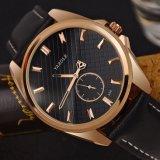 Reloj del cuarzo de la alta calidad H356 con el pequeño de la dial de Design&Hollow reloj único de los hombres del puntero hacia fuera