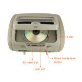 lettore DVD del poggiacapo del video del poggiacapo 7inch/9inch con il cuscino e la chiusura lampo