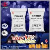 Suministro de la marca de fábrica China Loman polvo blanco precipitó el sulfato de bario