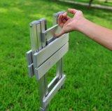 Tabouret se pliant portatif extérieur d'alliage d'aluminium, pêchant des selles de barbecues
