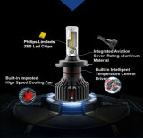 2017 farol novo 9005 do diodo emissor de luz da lâmpada 60W 10000lm a Philips T8 do carro do diodo emissor de luz auto 9006 H4 H7 H11 9004 9007