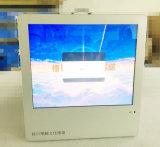 17 -デジタル表記を広告する表示LCDパネルを広告するインチ都市輸送