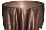 Coperchio pranzante rettangolare rotondo della Tabella dell'hotel del partito del panno della Tabella di cerimonia nuziale di colore solido delle tovaglie del poliestere