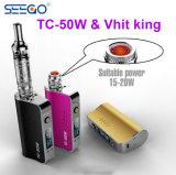 Producto caliente Seego Tc-50W Box Mod Vape batería