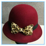 Form-Frauen-Wolle-Filzcloche-Hut für Winter