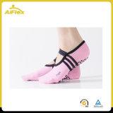 Poignées de chaussettes de danse Fitness Pilates