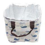 Sacchetto personalizzato del pranzo isolato ragazze della tela di canapa del cotone