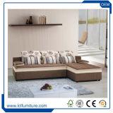 Мебель комнаты Futon мебели дома слипера софы кровати софы ткани фиоритуры живущий