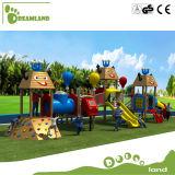 Campo de jogos ao ar livre de madeira personalizado do melhor preço para miúdos
