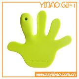 販売(YB-LY-CM-04)のための格子形のシリコーンのコップのマット