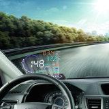 5.5 '' système d'alarme haut de survitesse de la surface adjacente A8 Hud du véhicule OBD2 II de projecteur d'affichage à cristaux liquides Digital d'étalage de tête automatique de Hud de véhicule