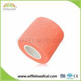 Fasciatura coesiva della migliore garza esterna elastica riguardo al prezzo di sport di alta qualità