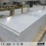 Feuille extérieure solide de marbre chaud de texture pour verser le panneautage de mur