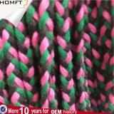 Mélange Color&#160 ; Cotton&#160 plat ; Corde/cordon tressés de chaîne de caractères