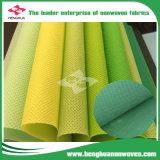 80 GSM Nonwoven de polipropileno laminado textil Spunbond tela transpirable