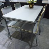 Tabela e cadeira da sala de jantar de 4 assentos