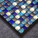 300X300 2018 nuevos diseños de tendencia baldosas mosaico de vidrio multicolor
