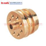 Peças fazendo à máquina do CNC dos produtos de cobre no fabricante de Shenzhen