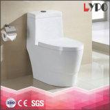 Toletta di ceramica del Wc della stanza da bagno di colore di un pezzo di ciclone di buona qualità Lp1304