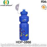 BPA libèrent la bouteille d'eau en plastique potable de sport de bouteille de bicyclette