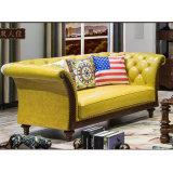 Sofà semplice moderno per la mobilia del salone (AS846)