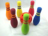 공장 가격 아이를 위한 다채로운 NBR 거품 볼링 핀 장난감