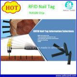 Bauholz und hölzerne Produkte, die Management ABS Plastik-RFID Nagel-Marke aufspüren