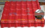 Azulejo de azotea español plástico de la resina sintetizada del estilo de Teja Azulejo De Resina Sintetica