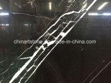 Marmo nero cinese per le mattonelle e le parti superiori