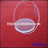 Fire Polish Jgs cercle clair Galette de verre de quartz fondu