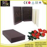 卸し売り贅沢なカスタム優美の黒の引出し様式のペーパー宝石箱(8015)