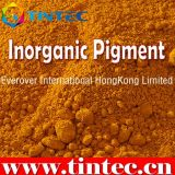 Pigmento inorgánico amarillo 24 (Antimonio cromado el Buff de titanio rutilo)