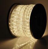 Wasserdichtes dekoratives 11mm LED Streifen-Licht des im Freien des Umlauf-2 Draht-(CER, RoHS)