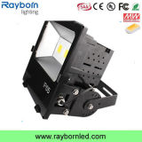 높은 Lumen 100W Outdoor Parking Lot Lighting LED Flood Light