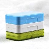 Коробка пилюльки 4 клеток портативная пластичная для перемещения