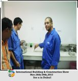 Machine de poudre de gypse avec le certificat de la CE