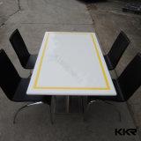 Kkr Pierre artificielle mobilier Table à manger ensemble