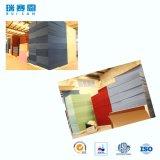 écrans antibruits de fibre de polyester d'épaisseur de 4mm, panneau ignifuge pour le mur et plafonds