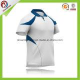 Camisa feita sob encomenda do grilo do Sublimation, projeto de Jersey da equipe do grilo do desgaste da compressão