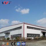 SGS aprobó el marco de acero de luz Taller de creación de acero con grúa