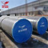 SSAW flüssiges Rohr-Gefäß mit spiralförmig geschweißt für Wasser, Penstock-hydroenergie, Öl, Gas