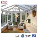Couleur blanche Salle de Sunshine de verre aluminium système de conception Impérial de luxe
