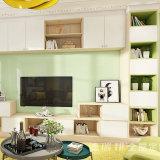 TVのキャビネットが付いている白いカラー居間の家具の食料貯蔵室のキャビネット