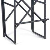 Chair Tubetall屋外アルミニウム黒いディレクター