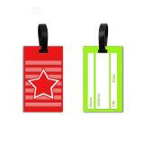 PVC Luggage Tag petit carré Custom All Star PVC luggage tag Étiquette Nom Cartes d'embarquement pour sac