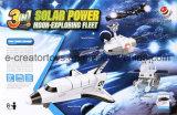 3 dans 1 flotte solaire d'exploration de lune - jouets de la Science