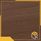 La ligne du grain du bois Papier décoratif pour les meubles en provenance de Chine