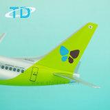 جديدة بلاستيكيّة طائرة نموذج لأنّ [ب737-800] [جين] [39.5كم] [سكل مودل]
